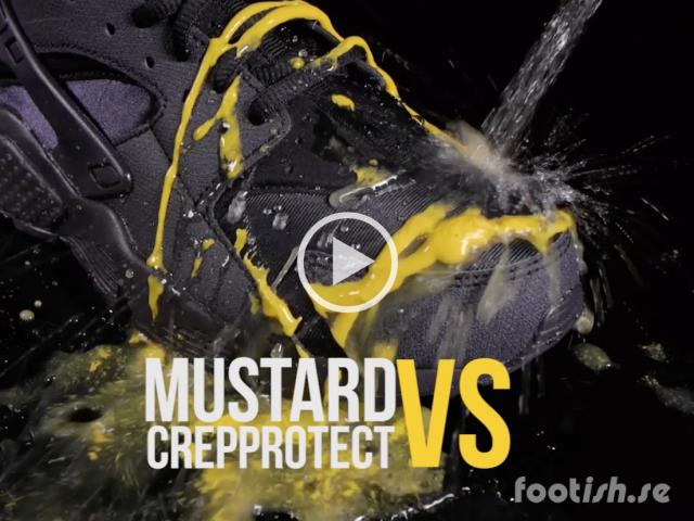 Crep Protect Rain And Stand - Air Huarache - Mustard