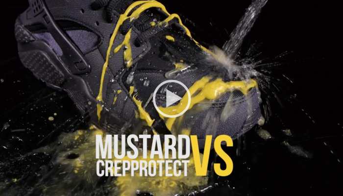 Crep Protect Rain And Stand - Air Huarache - Mustard