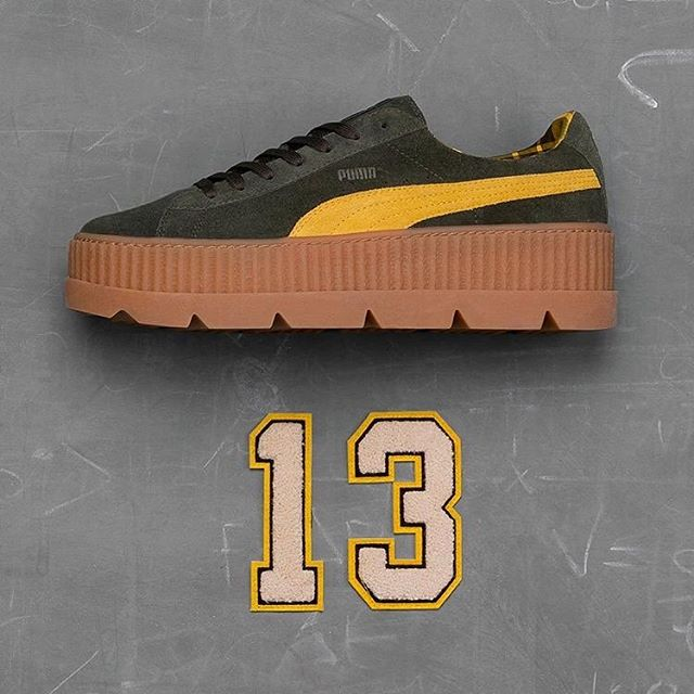 eac38d9d82a8bc ... Puma x Fenty Cleated Creeper Suede Wns 366268-03 366268-01 new arrival  0f6be . ...