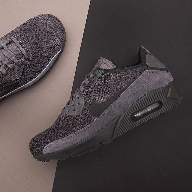 on sale 09fe0 4b14b Nike Air Max 90 Ultra 2.0 Flyknit – 875943-008 • | Footish