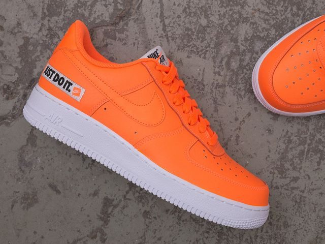 check out cf188 a8b76 Nike Air Force 1 07 LV8  Just Do It  Leather – BQ5360-800